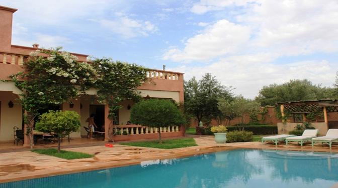achat vente villa marrakech villa marrakech 5. Black Bedroom Furniture Sets. Home Design Ideas