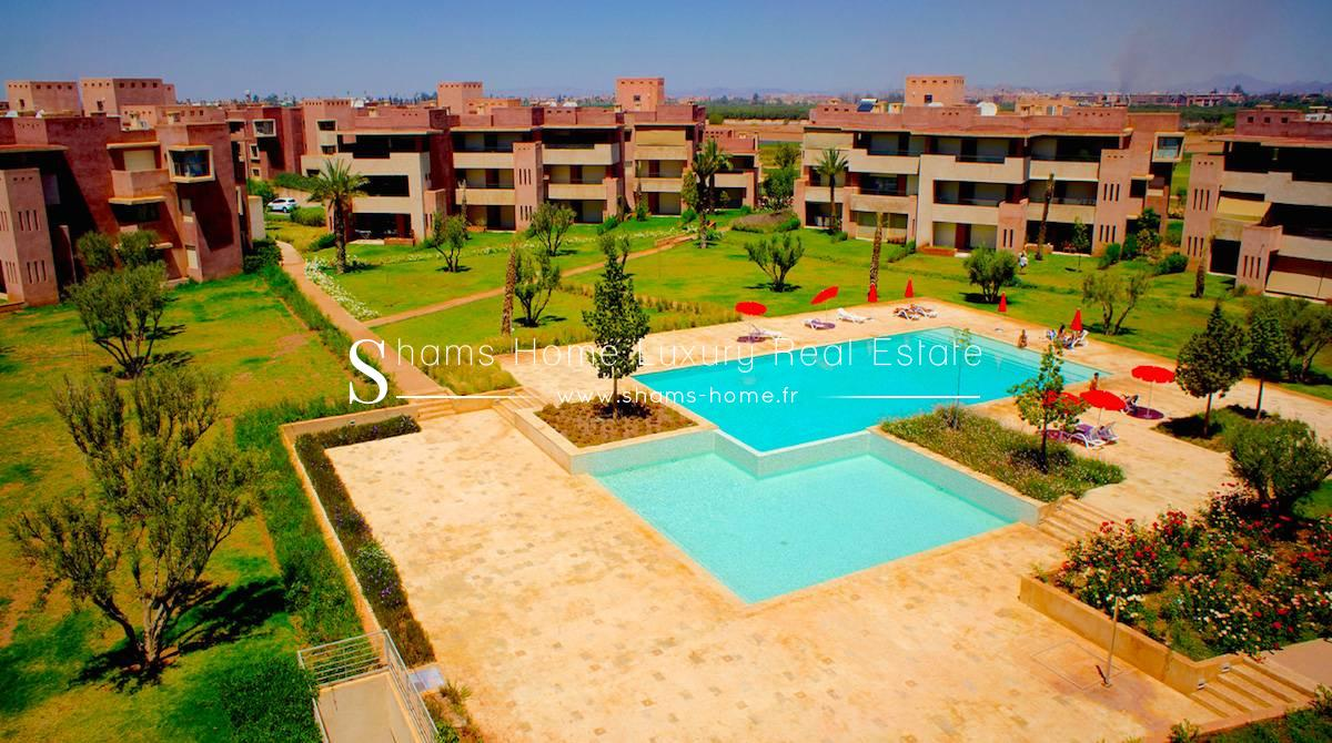 Appartement de haut Standing en Location à Prestigia Marrakech