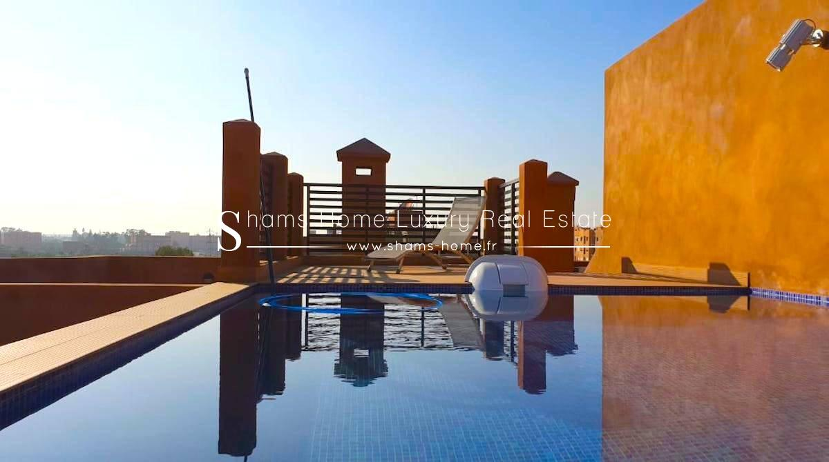 Appartement de Standing en Location Marrakech Hivernage