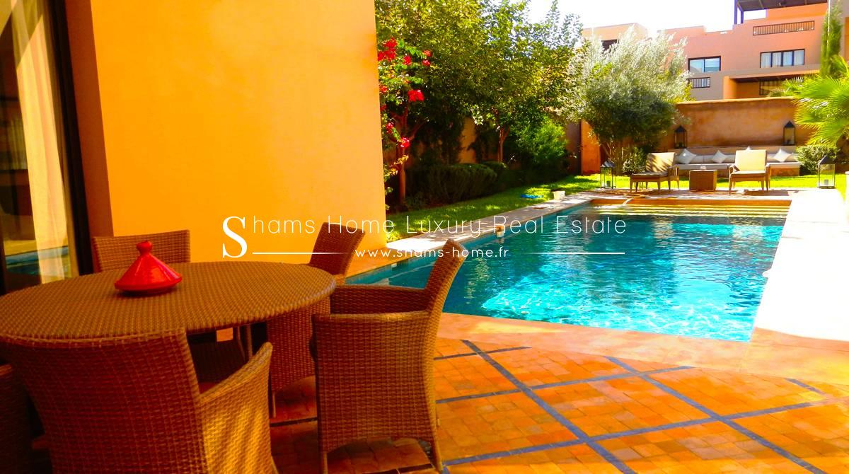 Splendide Villa - Riad en Vente sur Golf Resorts à Marrakech