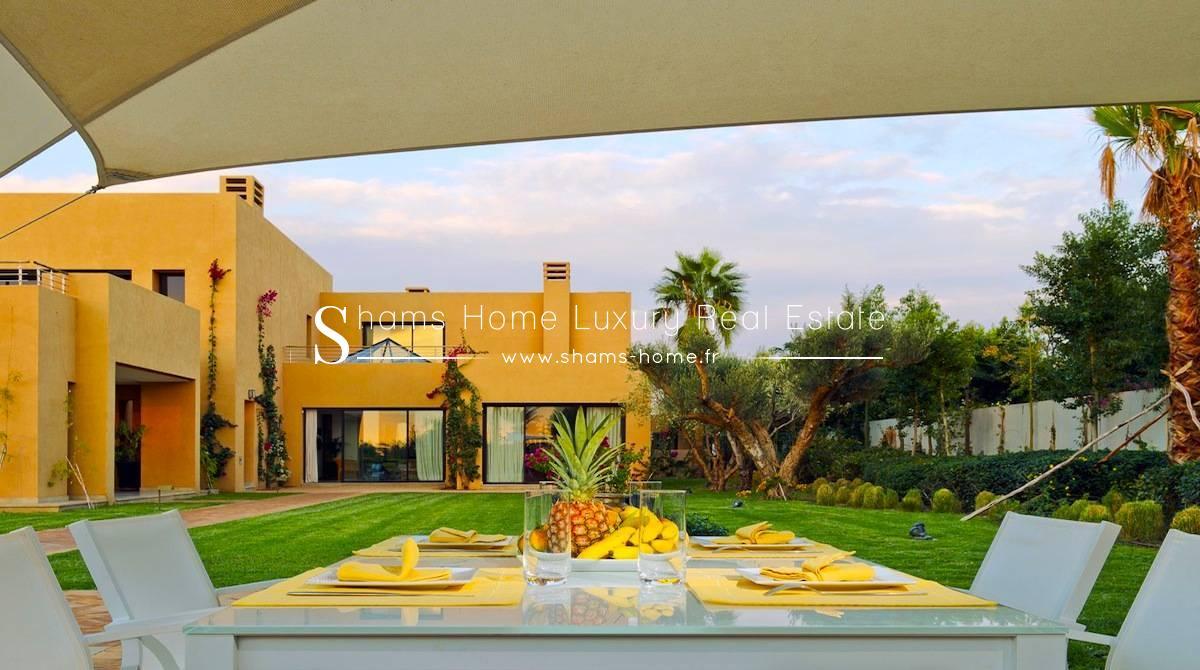 Vente villa marrakech achat villa de luxe shams home for Achat villa de prestige