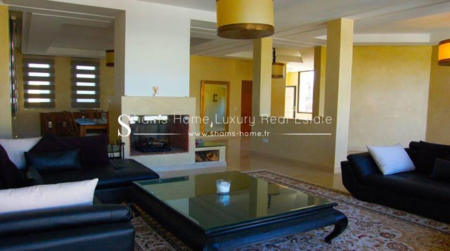 Contemporaine Villa en Location au Golf d\'Amelkis Marrakech